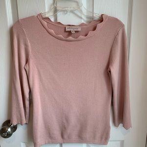 Philosophy three-quarter length sleeve sweater
